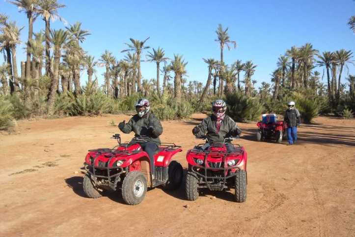 Marrakech quad biking